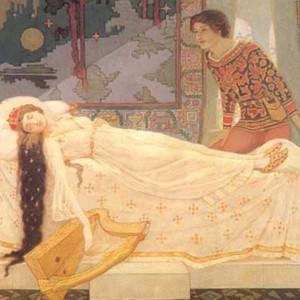 картинки спящая царевна